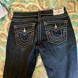 Women's True Religion blue jeans